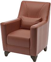 Кресло мягкое Савлуков-Мебель Канзас Fusion (шоколад) -