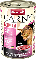 Корм для кошек Animonda Carny Adult мультимясной коктейль (400г) -