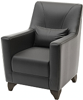 Кресло мягкое Савлуков-Мебель Канзас Fusion (черный) -