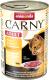 Корм для кошек Animonda Carny Adult с говядиной, курицей и сердцем утки (400г) -