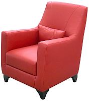 Кресло мягкое Савлуков-Мебель Канзас Fusion (красный) -