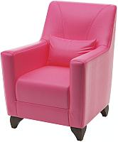Кресло мягкое Савлуков-Мебель Канзас Fusion (розовый) -