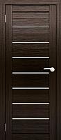 Дверь межкомнатная Юни Двери Амати 01 80x200 (дуб венге/стекло белое) -