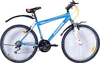 Велосипед PIONEER Cowboy (18, синий/белый/оранжевый) -