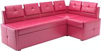 Уголок кухонный мягкий Савлуков-Мебель Рио (розовый) -