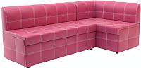 Уголок кухонный мягкий Савлуков-Мебель Версаль (розовый) -