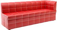 Скамья кухонная мягкая Савлуков-Мебель Версаль (красный) -