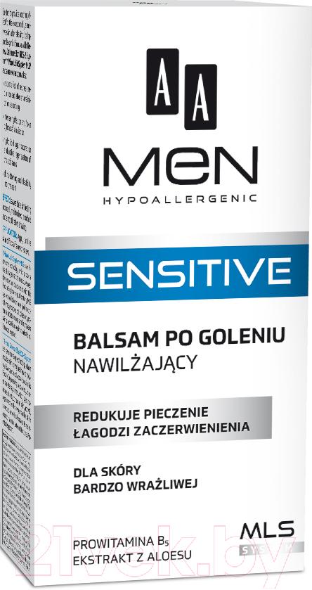 Купить Лосьон после бритья AA, Men Sensitive увлажняющий (100мл), Польша