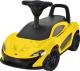 Каталка детская Chi Lok Bo McLaren 372A (желтый) -