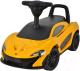 Каталка детская Chi Lok Bo McLaren 372A (оранжевый) -