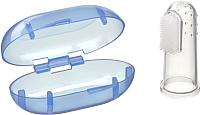 Зубная щетка детская Happy Baby Finger Silicone 20008 (сиреневый) -