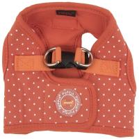 Шлея-жилетка для животных Puppia Dotty / PARA-HB1529-OR-M (оранжевый) -