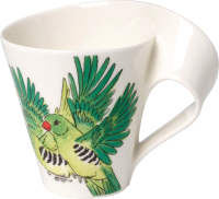 Кружка Villeroy & Boch NewWave Caffe Animals of the World / 10-4201-9100 (зеленая амадина) -