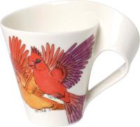 Кружка Villeroy & Boch NewWave Caffe Animals of the World / 10-4202-9100 (красный кардинал) -
