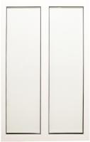 Окно ПВХ Добрае акенца Глухое двухстворчатое 3 стекла (1300x900) -