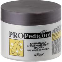 Крем для ног Belita PRO Pedicure Крем-маска 7 натуральных масел (300мл) -