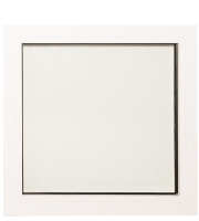 Окно ПВХ Добрае акенца Глухое 2 стекла (700x700) -