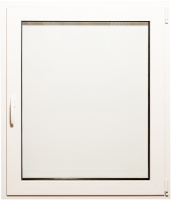 Окно ПВХ Добрае акенца Поворотно-откидное 2 стекла (900x900) -