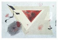 Авторская картина ХO-Gallery Черная ветка / ТР-2020-010 -