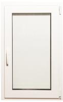 Окно ПВХ Добрае акенца С поворотно-откидной створкой 2 стекла (1000x600) -
