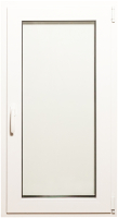 Окно ПВХ Добрае акенца Поворотно-откидное 2 стекла (1200x600) -