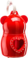 Контейнер для уборочных пакетов Ferplast Dudu Heart со стразами / 72312099 -