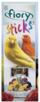 Лакомство для птиц Fiory Палочки с фруктами для канареек / 2505 (60г) -