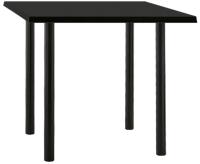 Обеденный стол Nowy Styl Kaja 120x80 (черный) -