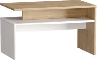 Журнальный столик Mobi Лайт 03.235 (дуб сонома/белый) -