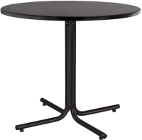 Обеденный стол Nowy Styl Karina 90 (черный) -