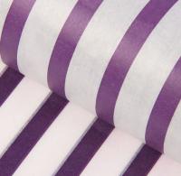 Набор бумаги для оформления подарков No Brand В полоску / 3284-5 (10л, черничный) -