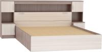 Комплект мебели для спальни Rikko Бася КР552 с прикроватным блоком (шимо темный/шимо светлый) -