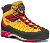 Ботинки для альпинизма Asolo Piz GV MM / A01034-A564 (р-р 8, мимоза/красный) -