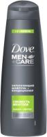 Шампунь-кондиционер для волос Dove Men+Care 2 в 1 свежесть ментола (380мл) -