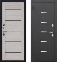 Входная дверь Гарда Муар Царга лазер Лиственница мокко (86x205, левая) -