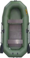 Моторно-гребная лодка Муссон Н-300 PC (зеленый) -