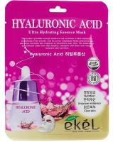 Маска для лица тканевая Ekel С гиалуроновой кислотой увлажняющая (25г) -