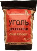 Уголь древесный Белдревресурс 3кг -