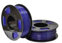 Пластик для 3D печати U3Print GF PETG 1.75мм 1кг (сапфир, полупрозрачный) -