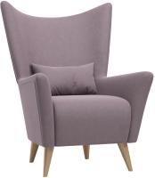 Кресло мягкое Woodcraft Носта вариант 14 (Sweet Lilac) -