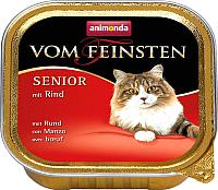 Корм для кошек Animonda Vom Feinsten Senior с говядиной (100г) -