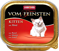 Корм для кошек Animonda Vom Feinsten Kitten с говядиной (100г) -
