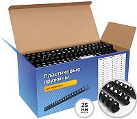 Пружины для переплета Гелеос BCA4-25B 25мм (черный) -