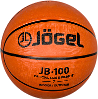 Баскетбольный мяч Jogel JB-100 (размер 7) -
