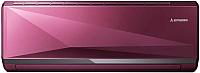 Сплит-система Mitsubishi Heavy Industries SRK35ZXA-SR (бордово-красный металлик) -
