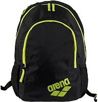 Рюкзак ARENA Spiky 2 Backpack 1E005 53 (черный/желтый) -