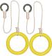 Кольца гимнастические Формула здоровья КГ01В (желтый) -
