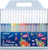 Фломастеры deVente Flamingo / 5082012 (18цв) -