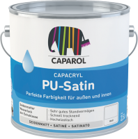 Эмаль Caparol Capacryl PU-Satin B M (350мл) -