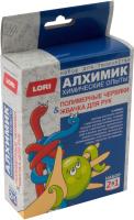Набор для опытов Lori Химические опыты. Полимерные червяки и жвачка для рук / Оп-040 -